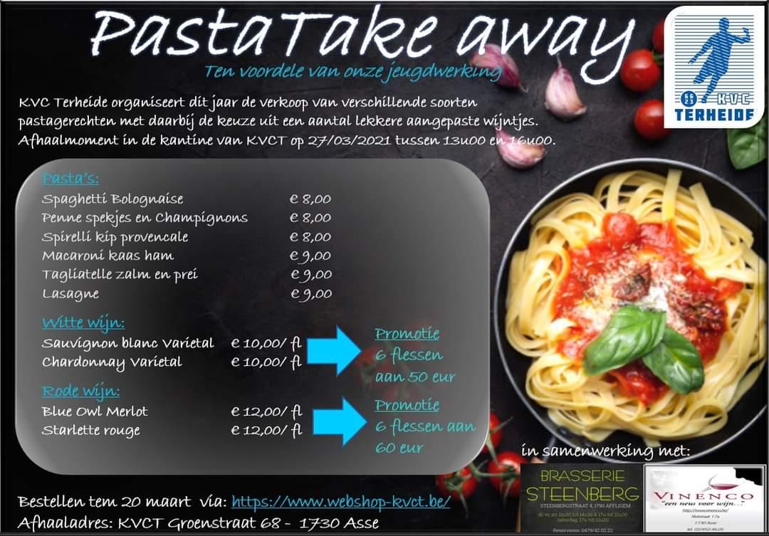 KVCT Pasta take-away