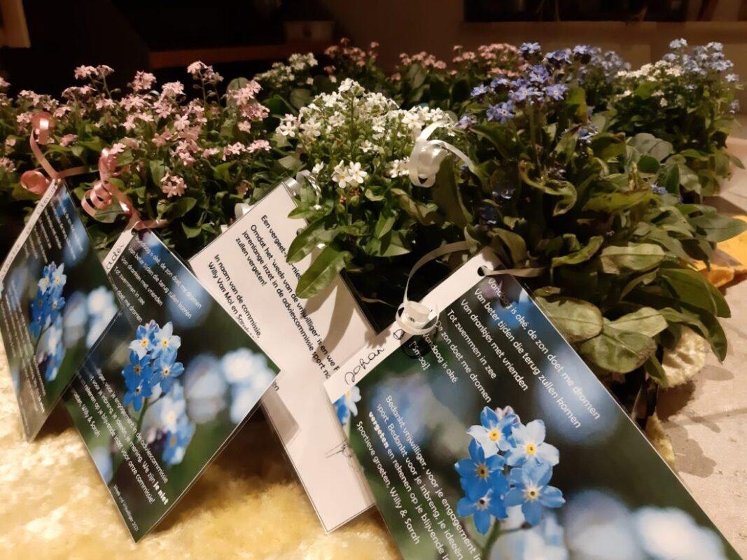 AC Sport zet vrijwilligers in de bloemetjes