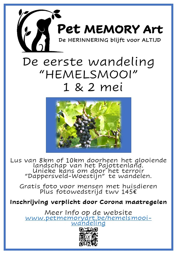 "Wandeling ""HEMELSMOOI"""