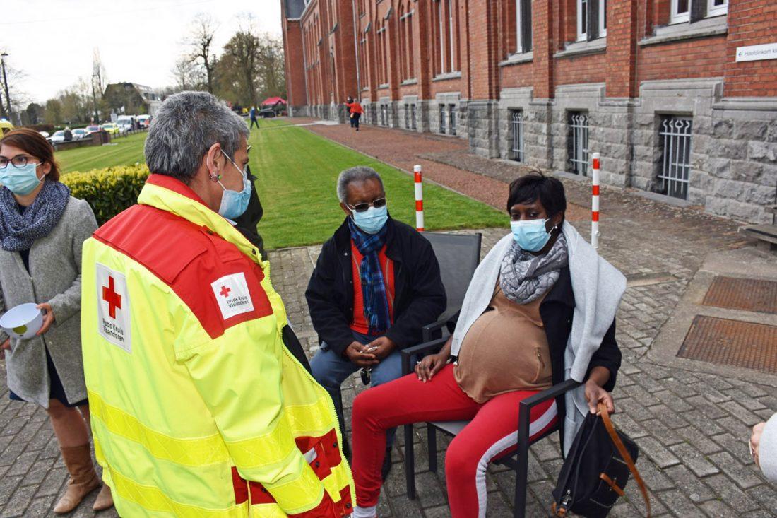 UPDATE : Eén week voor de bevalling slachtoffer van brand