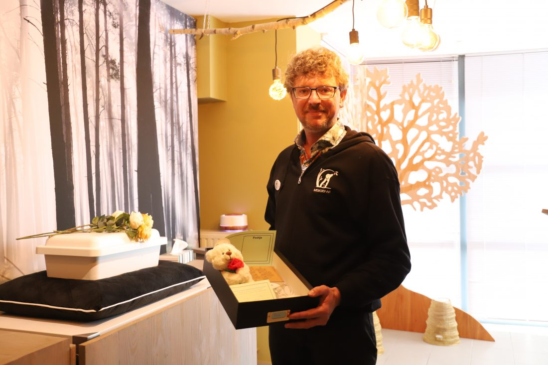 Opening Dierenuitvaartcentrum wordt gevierd met kennismakingswandeling