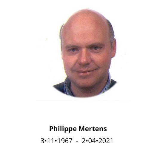 Philippe Mertens overleden
