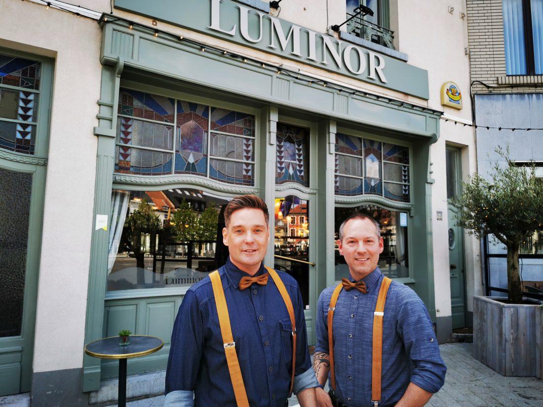 Van het vliegtuig naar de Luminor: ex-stewards Steven en Marc nemen iconisch café over