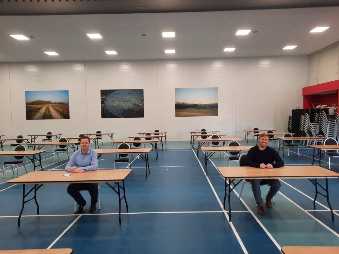 Studeren kan nu in feestzaal Brussegem