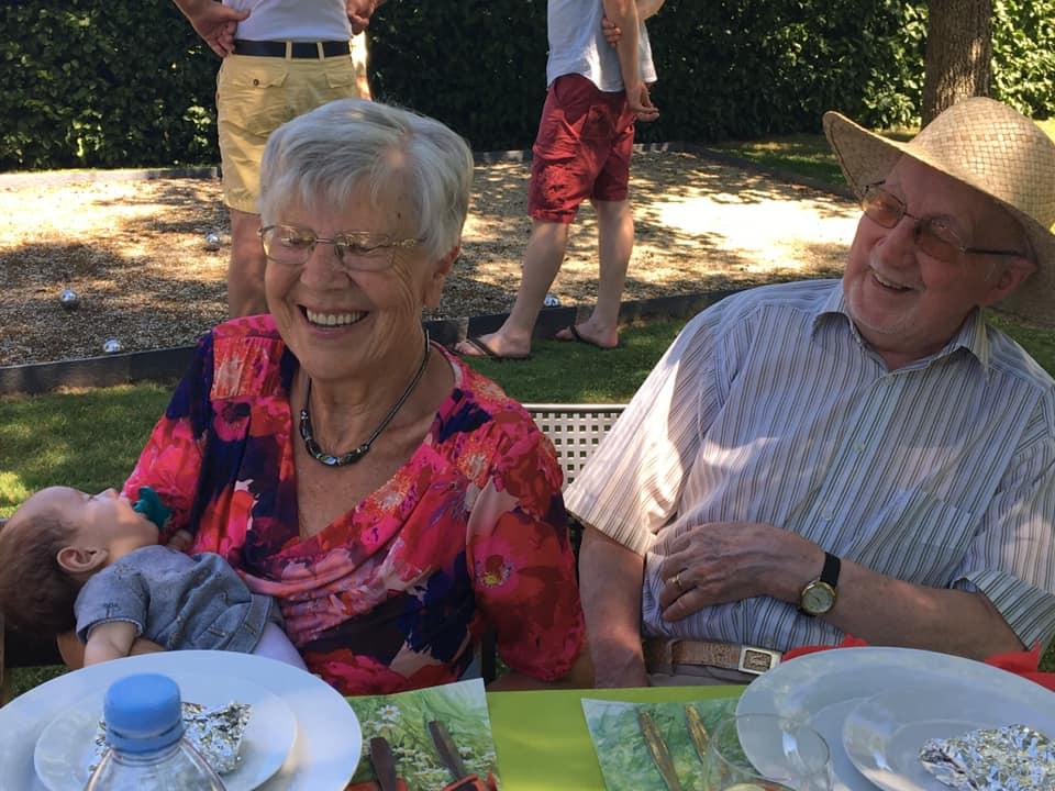 Briljanten jubileum voor Frans en Francine