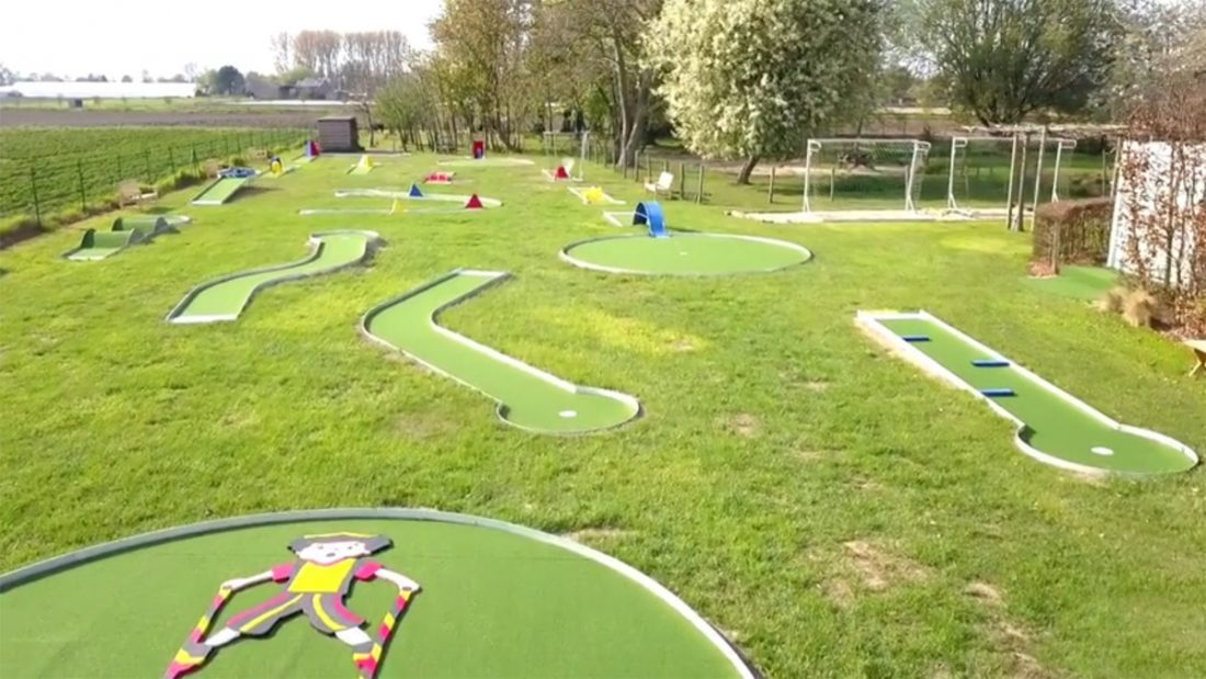 Mini golf in Peizegem