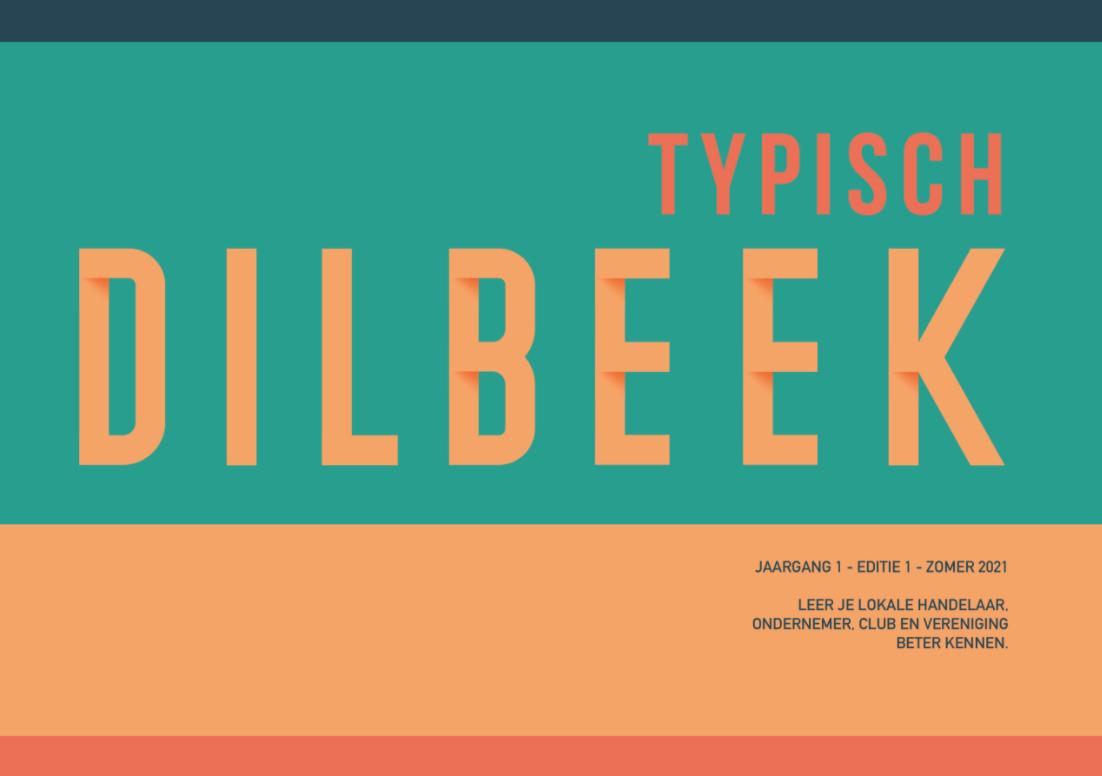 Nieuwe magazine 'Typisch Dilbeek' voor ondernemers en verenigingen