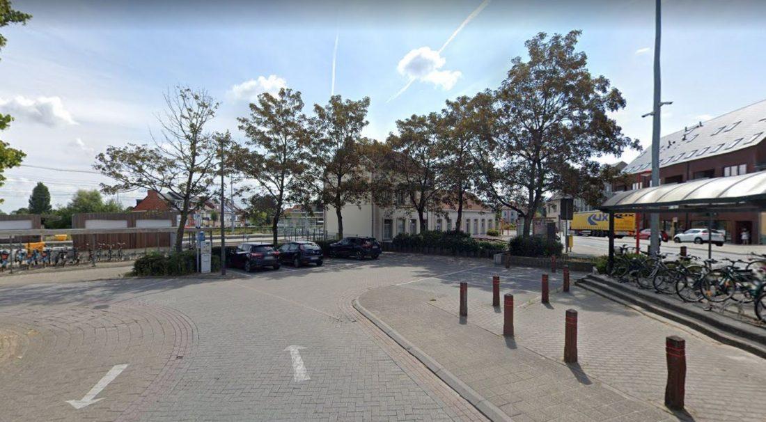 Vandaag start ontmanteling fietsenstalling station Asse