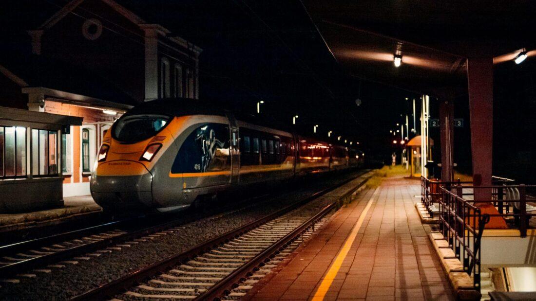 Eurostar reed door Opwijk