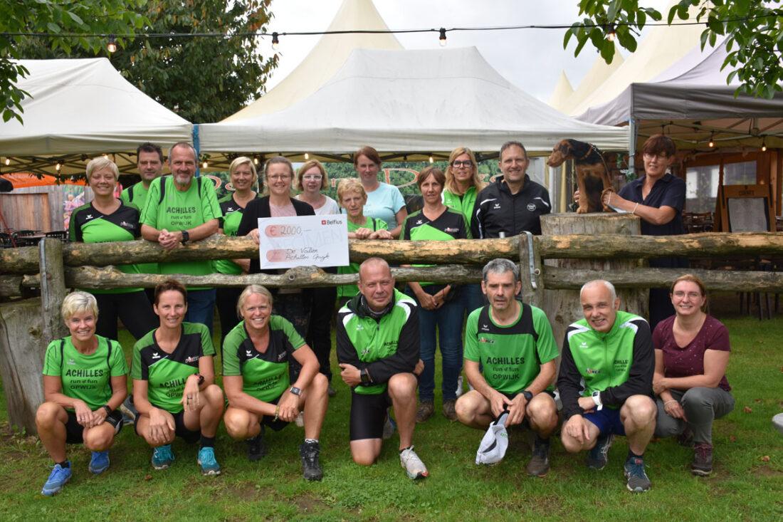 Achilles Run 4 Fun schenkt 2000 euro