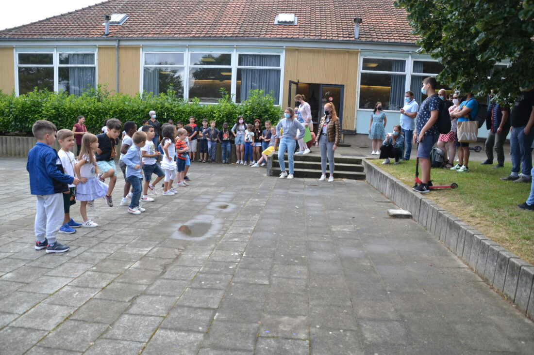 Anderstalige kinderen oefenen Nederlands tijdens taalstage
