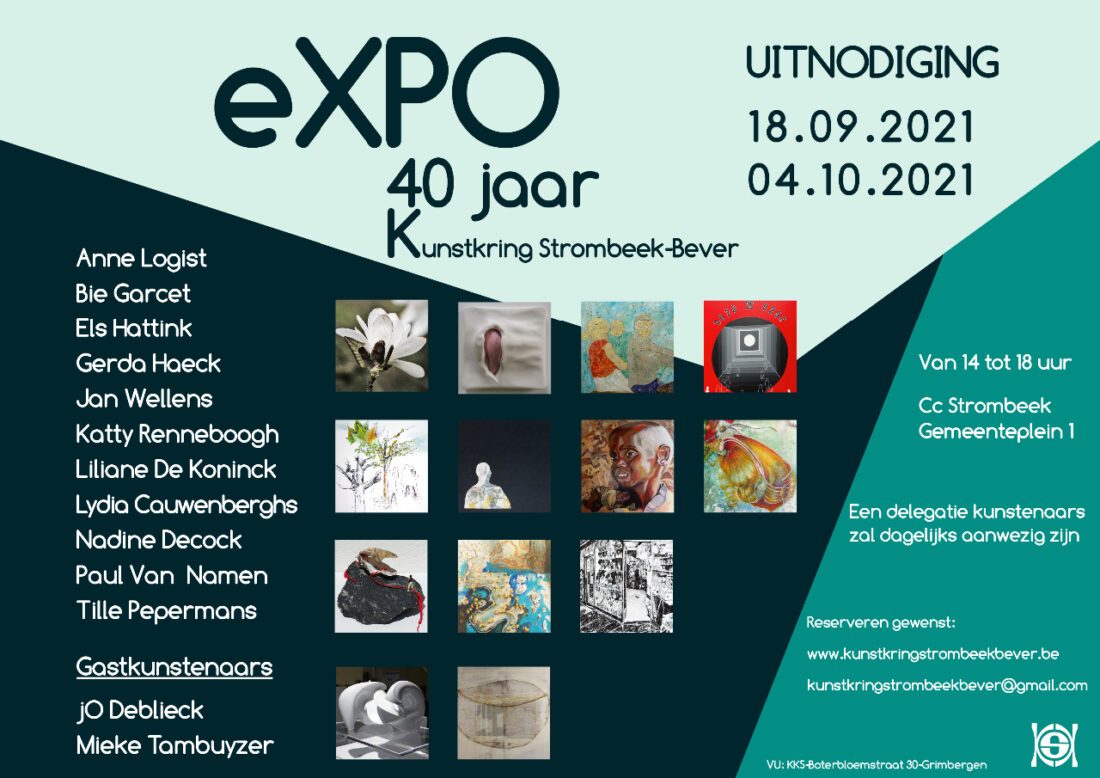 Expo 40 jaar Kunstkring Strombeek-Bever