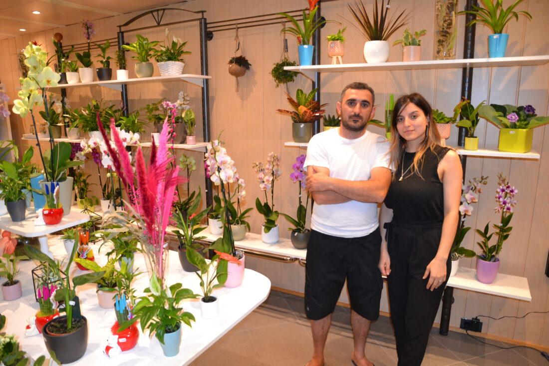 Aram en Arsin openen bloemenzaak Green Asse