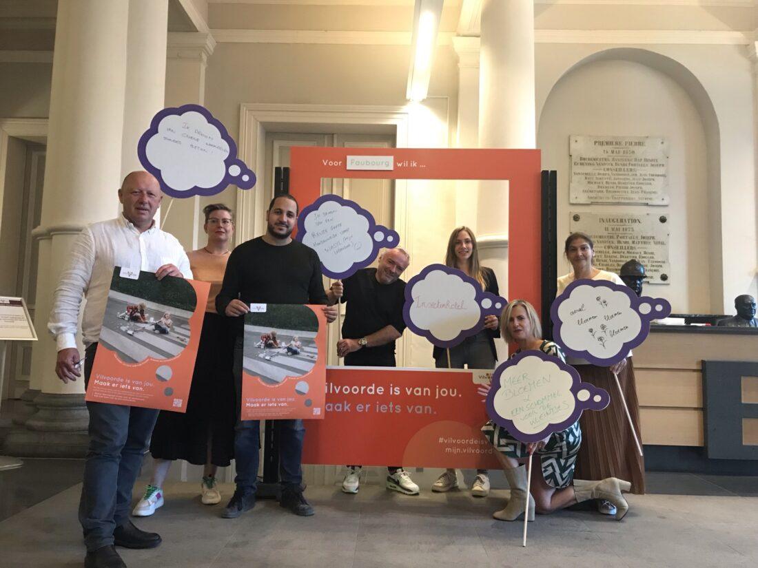 Stadsbestuur lanceert grootschalig participatietraject: 3 miljoen euro voor de acht Vilvoordse wijken