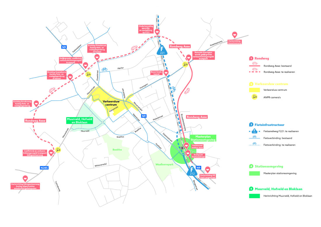 """""""Asse schakelt"""" Gemeente Asse wil verkeersproblemen aanpakken en lanceert  ambitieus mobiliteitsplan in afwachting van de Rondweg."""