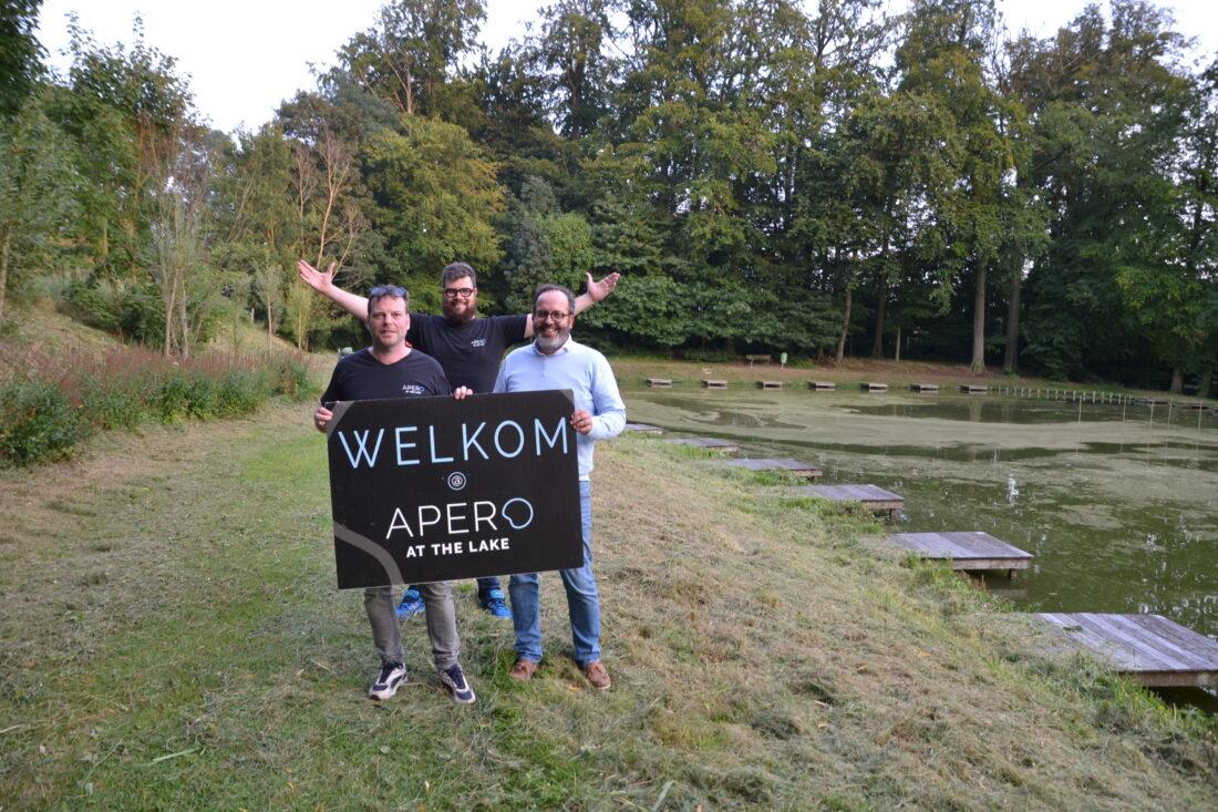 Zes vrienden organiseren opnieuw Apero at the Lake in de Patrotuin