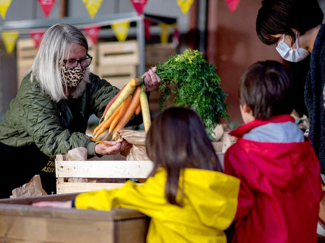 Nieuw initiatief in Zennestad: ophaalpunt 'Boeren & Buren'