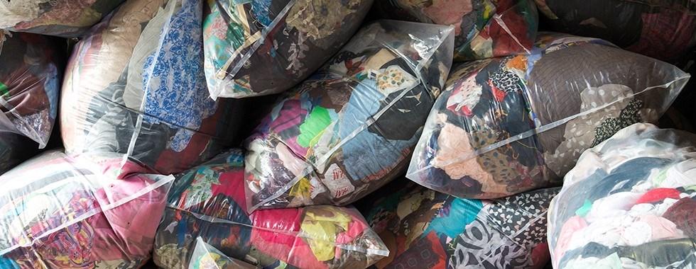 Textielophaling in Asse op dinsdag 12 oktober