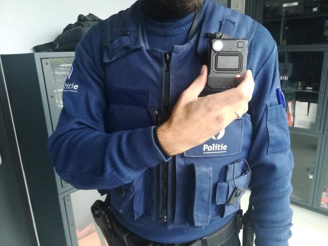 Politie Grimbergen test bodycams