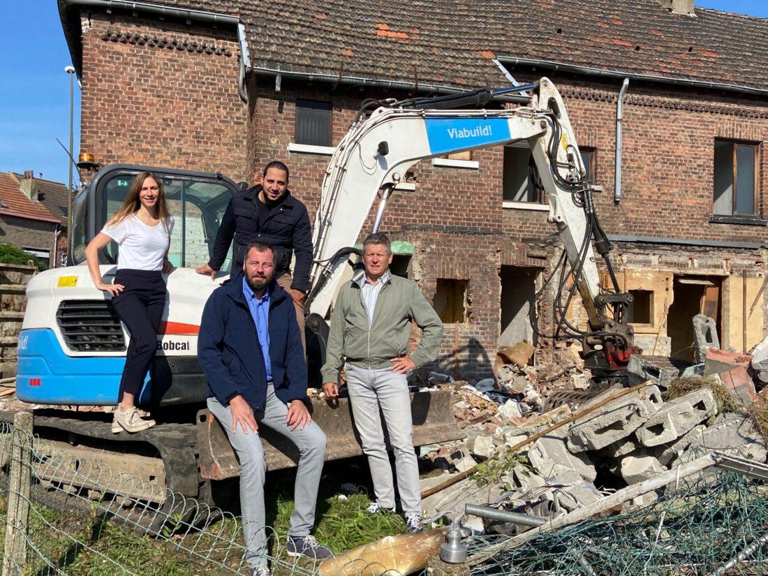Afbraak 24 sociale woningen gestart in Duchéhof