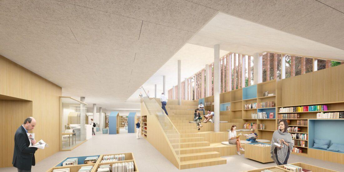 Grimbergen laat inwoners meedenken over 'bibliotheek van de toekomst'