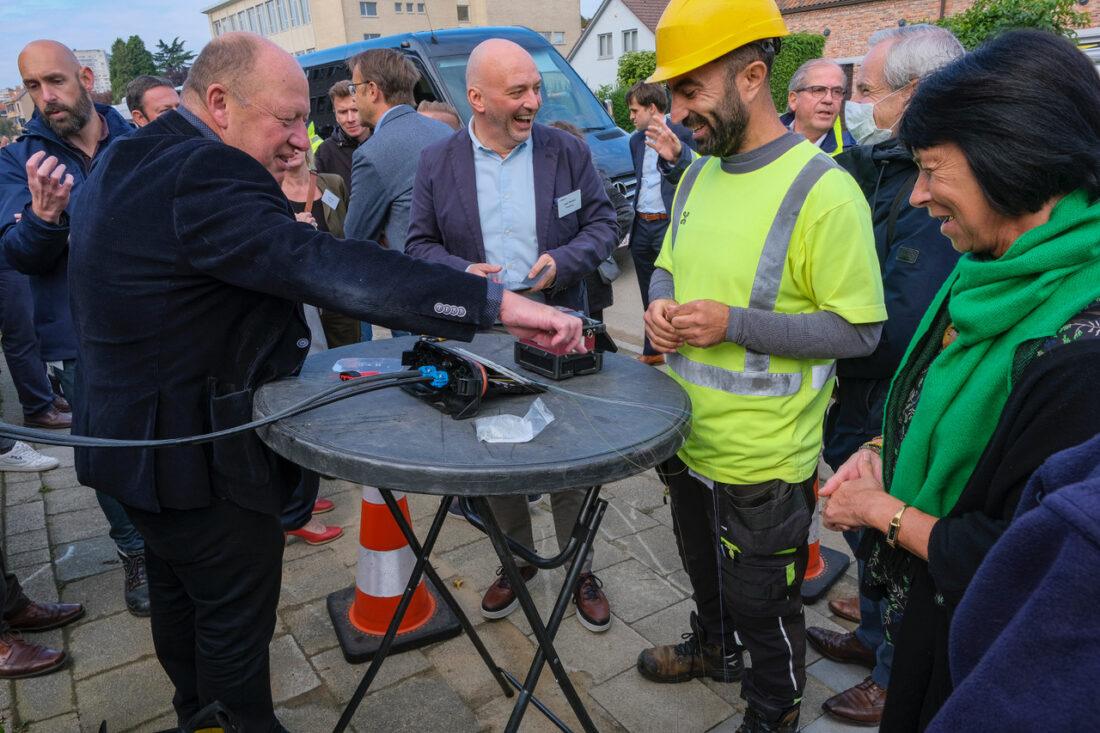 Fiberaansluiting voor meer dan 60.000 woningen en bedrijven in de Vlaamse Rand tegen 2023