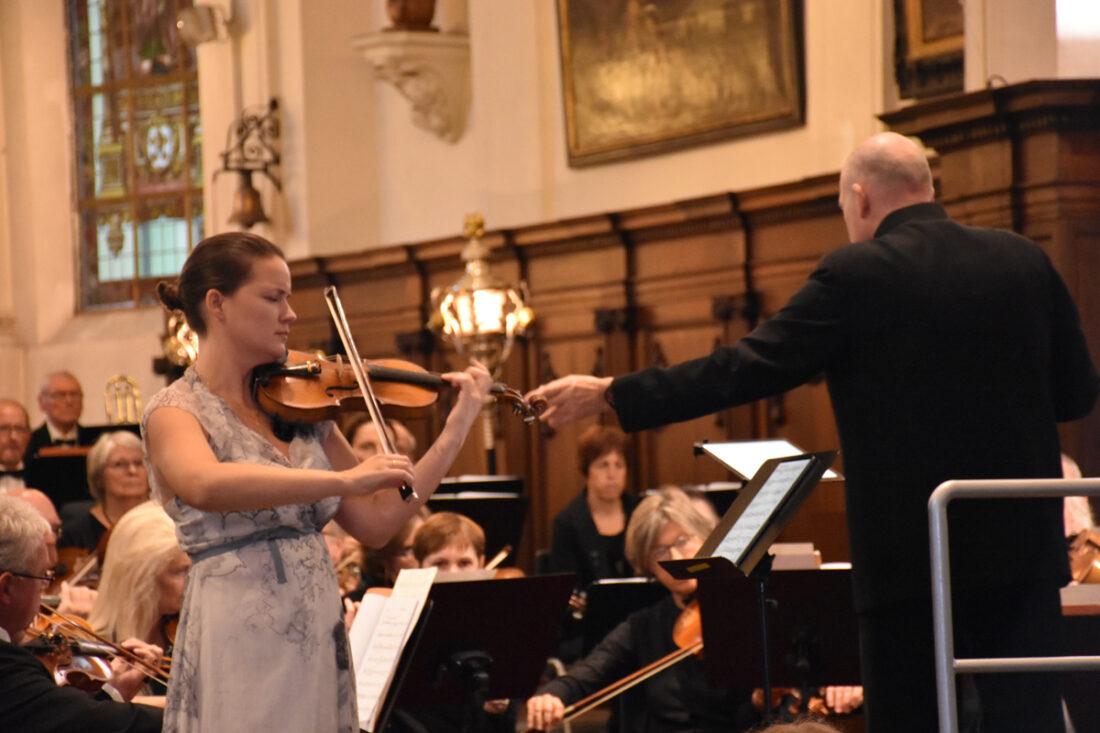 Uniek concert, unieke soliste
