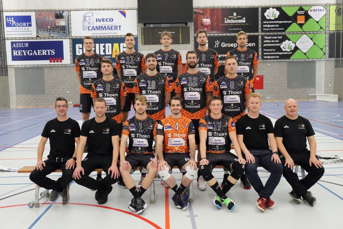 Volley Lindemans Aalst (vroegere Asse- Lennik) start nieuw competitie met overwinning.