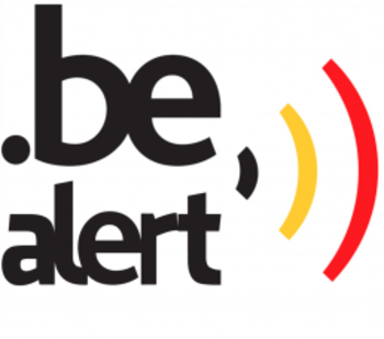 Nationale test van BE-Alert op donderdag 7 oktober