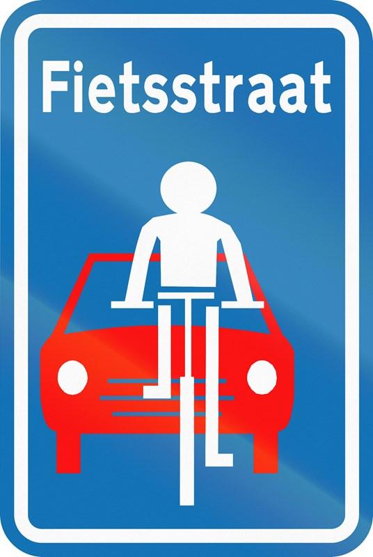 Deel Poel en Spoorwegbaan wordt fietsstraat vanaf 11 oktober